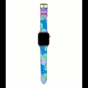 🎉NWT Lilly Pulitzer Apple Watch Band Swizzle Out